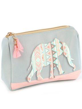 Elephant makeup bag