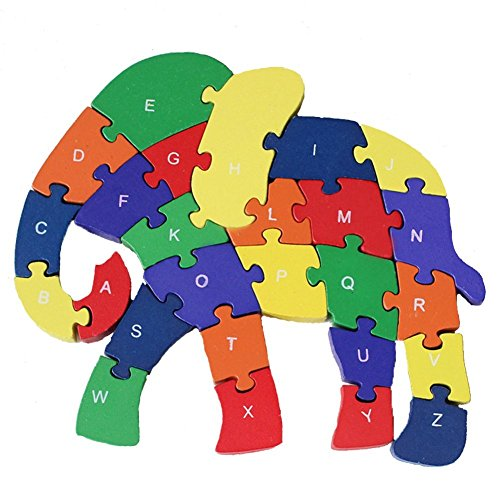 Puzzle Wooden Blocks Toys For Toddlers Children's Gift Of ...